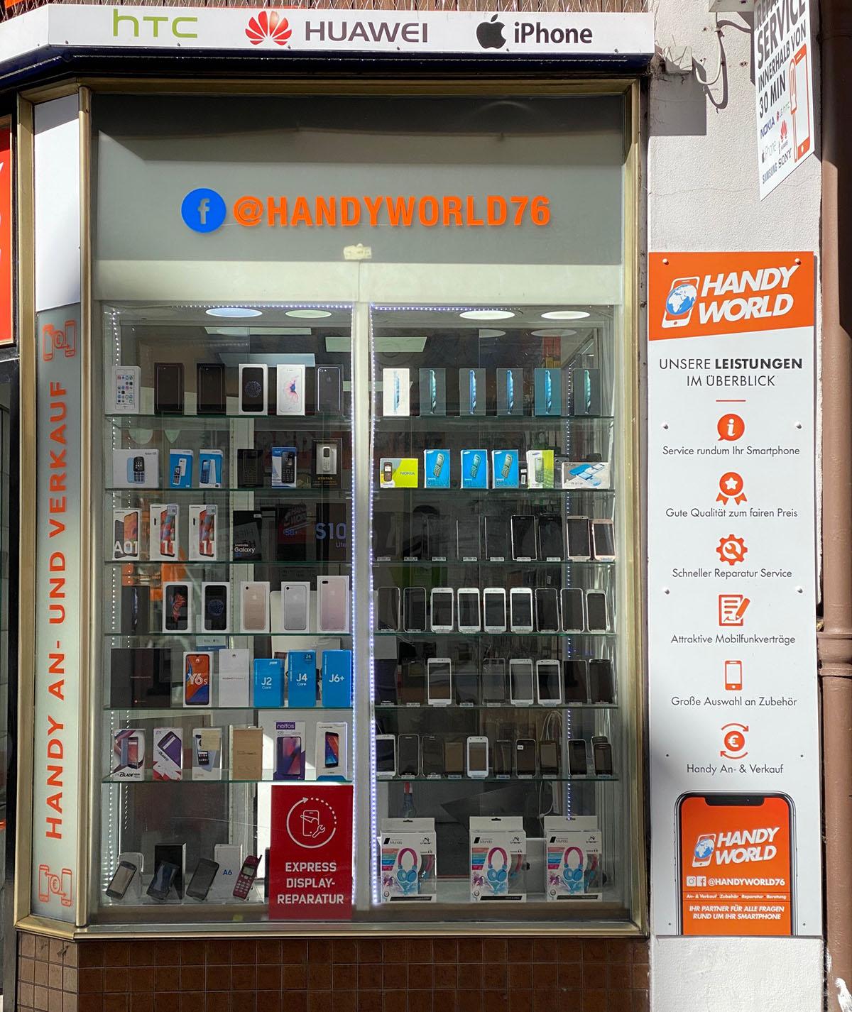 Handyworld Lübeck - iPhone und Smartphone